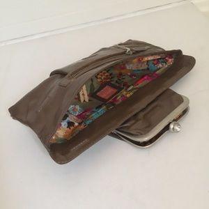 latico Bags - LATICO Leather Clutch Barbi Bag Handbag Purse